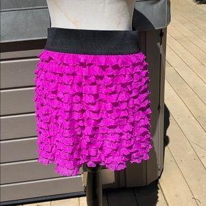 Free people beautiful ruffled skirt